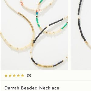 Anthropologie Farrah beaded necklace